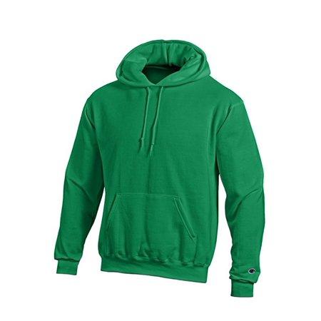 23c317c7d2da Champion - Champion Eco Fleece Pullover Hoodie Ultra Warm Hooded Jumper  Sweatshirt- S700 - Kelly Green - Medium - Walmart.com
