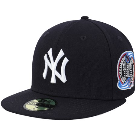 New York Yankees New Era World Series Wool Team 59FIFTY Fitted Hat - Navy