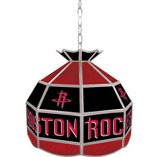 "Trademark Global Houston Rockets NBA 16"" Tiffany Lamp"