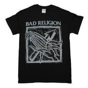 Bad Religion Against the Grain Black T-Shirt Large