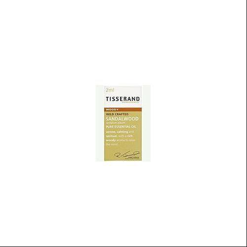 Sandalwood Pure Absolute Essential Oil Tisserand 0.06 oz Oil