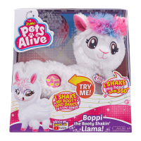 Deals on ZURU Pets Alive Boppi Booty Shakin Llama Dancing Robotic Toy
