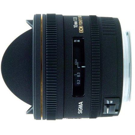 Sigma 10mm f/2.8 EX DC HSM Fisheye Lens for Pentax Digital SLR Cameras - International Version (No