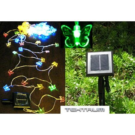 Tektrum 56 Feet Long 100 Multi Color Butterfly Two In One