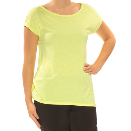 TOMMY HILFIGER Womens Green Short Sleeve Scoop Neck TShirt Active Wear Top  Size: S (Tommy Hilfiger Tunic)
