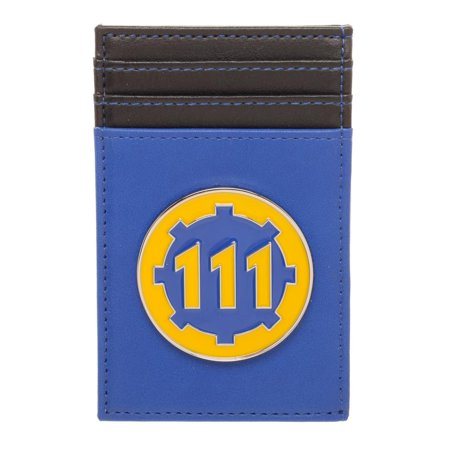Front Pocket Fallout Wallet Video Game Wallet Fallout Accessory - Wallet For Gamers Fallout Gift Gamer Wallet ()