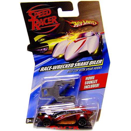 Race-Wrecked Snake Oiler Race Car with Spear Hooks Diecast Vehicle (Snake Oiler Race Car)