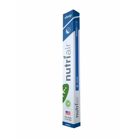 Nutriair Sleep Inhaler - Nutritional Aromatherapy Supplement – Fall Asleep Quickly, Wake Refreshed – All Natural Sleep Aid with Melatonin, L-Theanine, and Passion Flower Extract (1