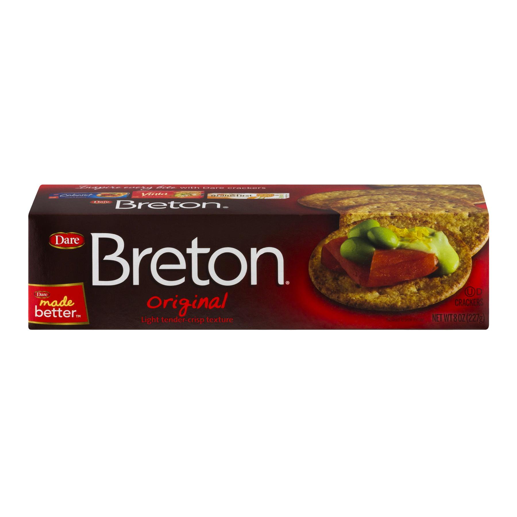 Breton Original Crackers, 8 oz