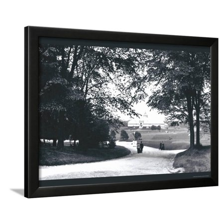 Franklin Park, Columbus, Ohio Framed Print Wall Art By William Henry Jackson (Franklin Frames)