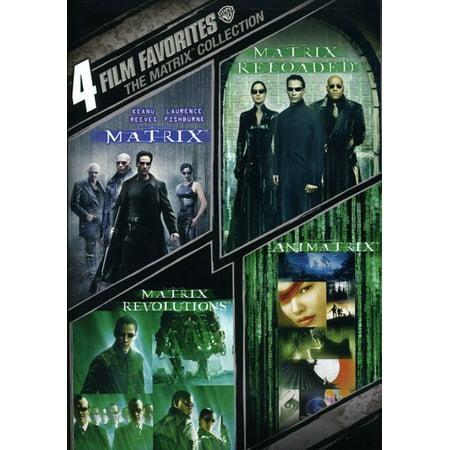 4 Film Favorites: The Matrix Collection (DVD)
