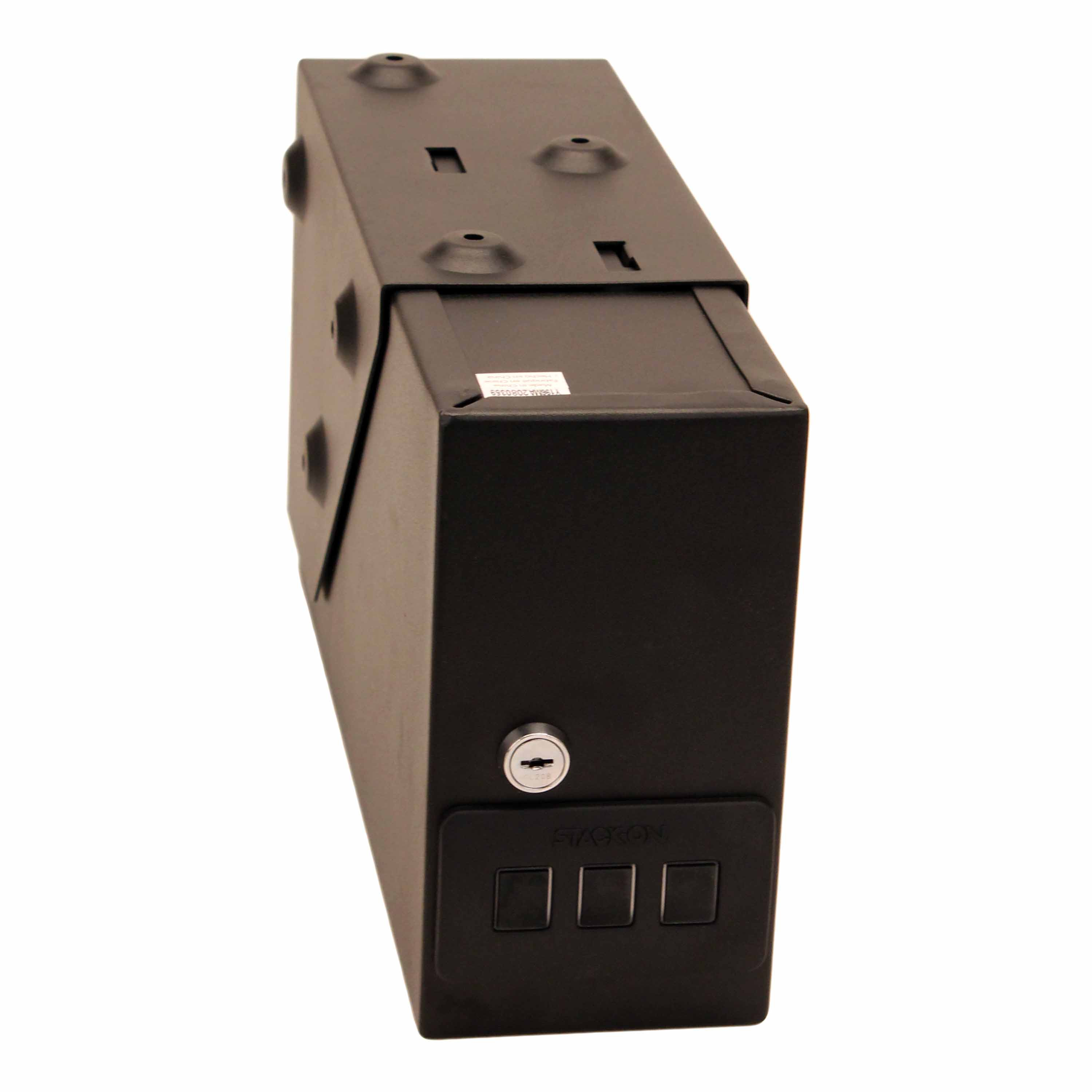 Stack-On QAS-1304 Low Profile Quick Access Safe with Electronic Lock Black