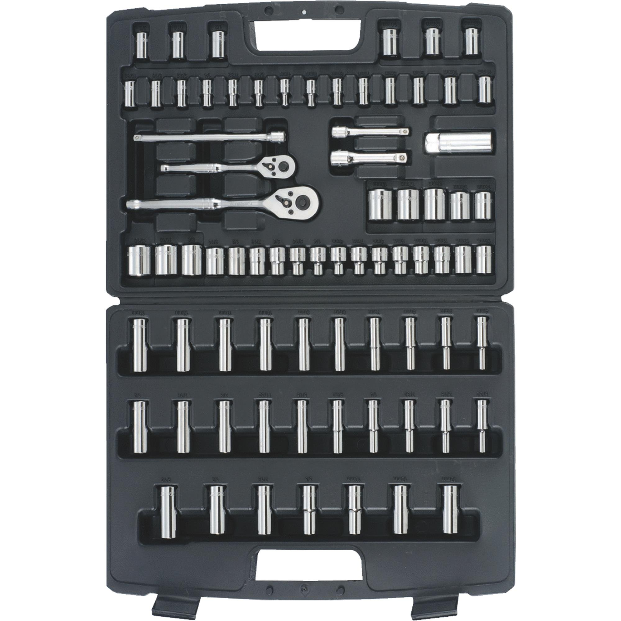 Stanley 75-Piece Mechanics Tool Set, 96-010