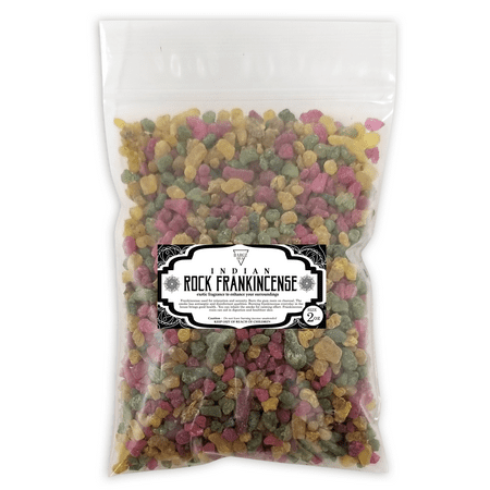 Aromatic Incense (Indian Frankincense Resin High Quality Organic Aromatic Resin Tears Rock Incense - 2 oz )