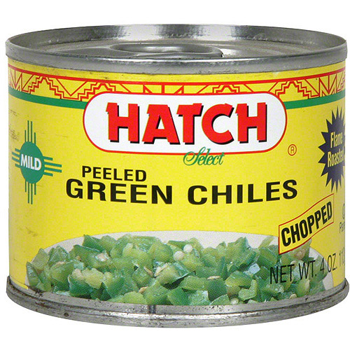 ***Discontinued by Kehe 06.10***Hatch Mild Chopped Green Chiles, 4 oz (Pack of 24)