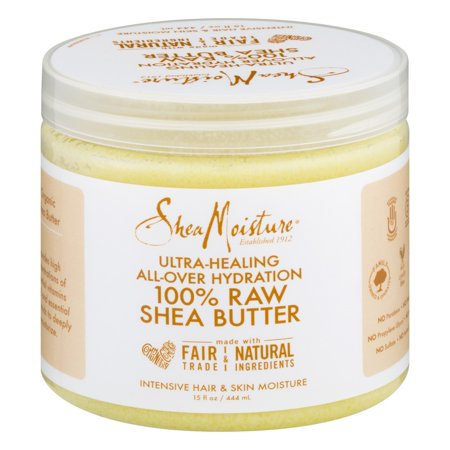 (SheaMoisture Ultra-healing All-Over Hydration 100% Raw Shea Butter, 15.0 FL OZ)