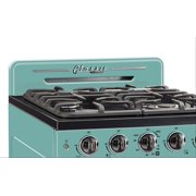 Classic Retro 24 2.9 Cu. Ft. Gas Range With Convection Oven In Ocean Mist Turquoise
