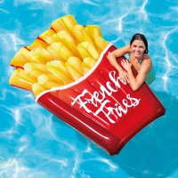 """Intex Inflatable French Fries Pool Float, 69"""" x 52"""""""