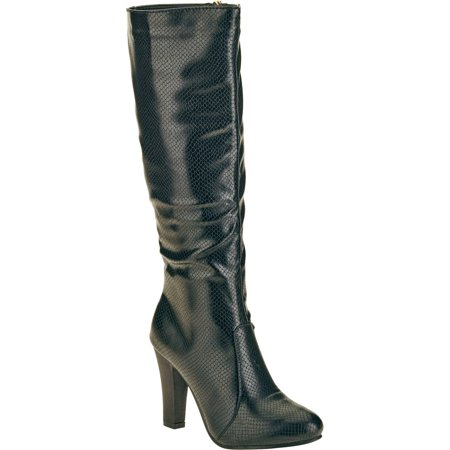 Forever Young Women's Textured Tall Boot ()