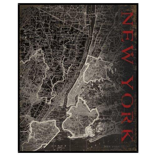 PTM New York Framed Graphic Art