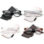 Newbee Plastic Vintage Style Reading Glasses for Men & Women