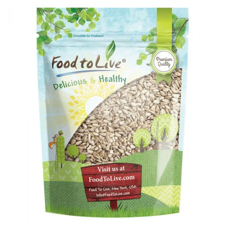 Sunflower Seeds, 8 Ounces - Kernels, Shelled, Kosher, Raw, Vegan, Bulk – by Food to Live ()