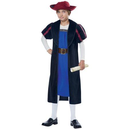 Christopher Columbus Explorer Child - Explorer Costume Kids