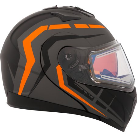 CKX Scorpion Tranz 1.5 RSV Modular Helmet, Winter Electric Double (Vega Helmet Shields)
