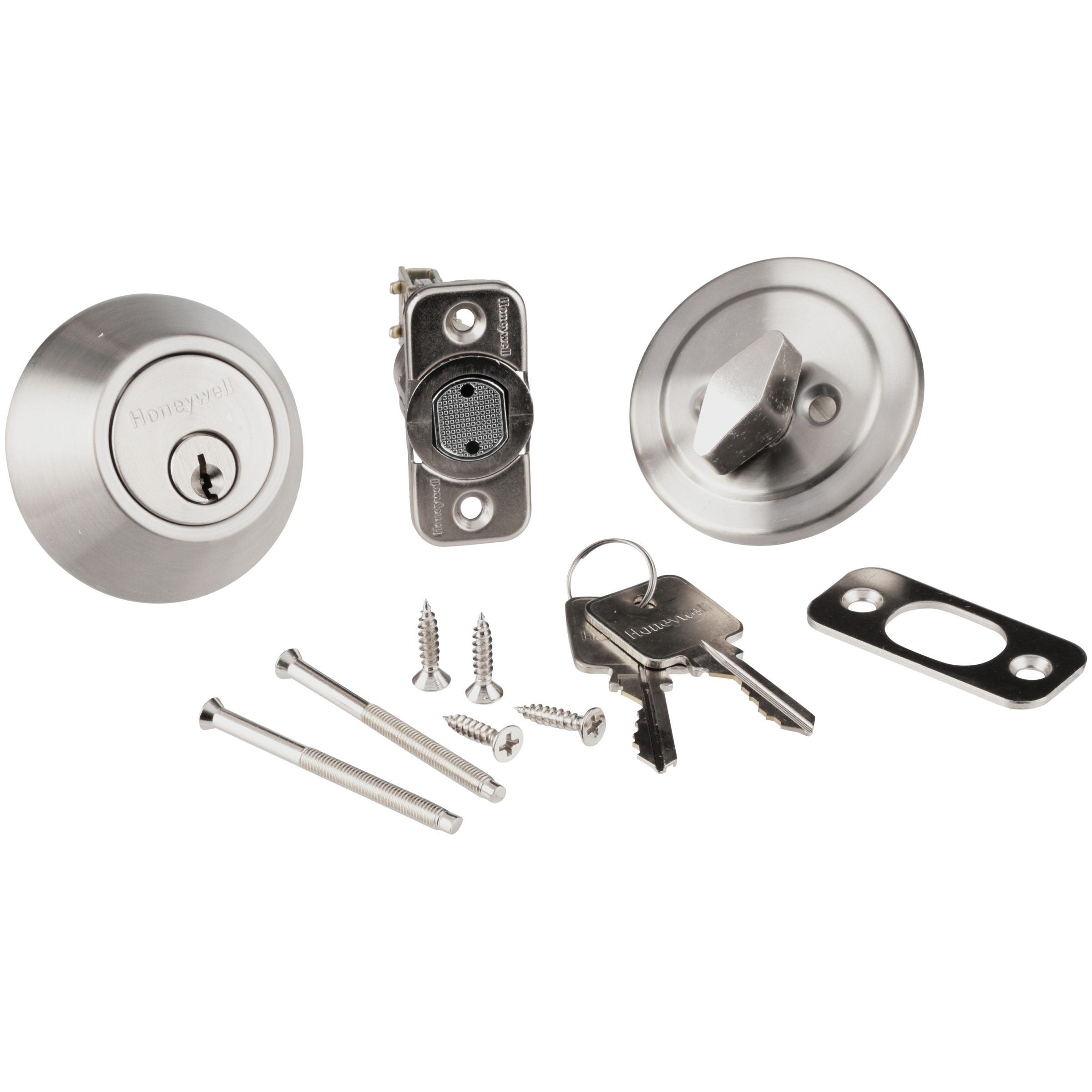 Honeywell Deadbolt 12 pc. Carded Pack
