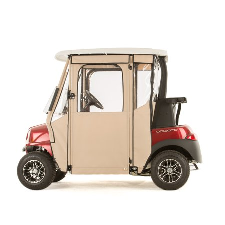 """DOOR-LUX"" Golf Cart Sunbrella Enclosure for Club Car Onward (Choose Color)"
