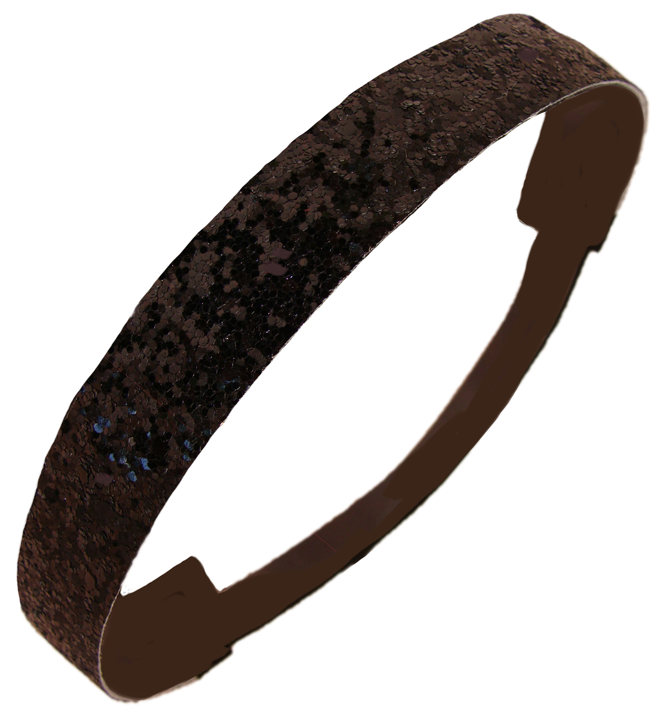 Kenz Laurenz Glitter Headband Girls Headband Sparkly Hair Head Band Black