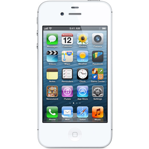 Straight Talk iPhone 4S 8GB, White