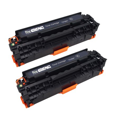 2 Pack New Compatible with HP CF380A Toner Cartridge for HP Color LaserJet Pro M476dn MFP M476dw MFP