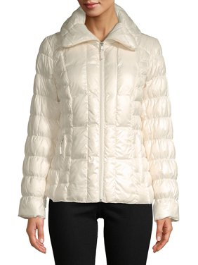 dd21f0665e0e Product Image Packable Ruched Down-Filled Puffer Coat
