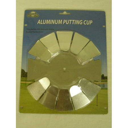 On Course Aluminum Putting Cup (Practice Golf Hole) (Golf Digest Putting)