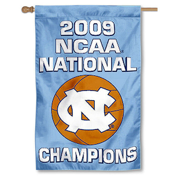 "North Carolina Tar Heels 30"" x 40"" Two Sided House Flag"