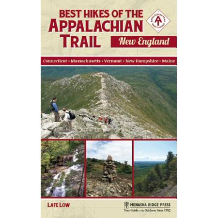 Best hikes of the appalachian trail: new england - paperback: