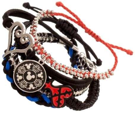 Disney Kingdom Hearts Bracelet Set Apparel by BioWorld