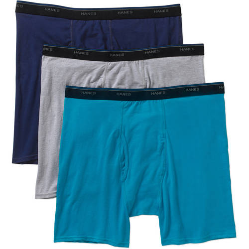 Reebok Mens Athletic Performance Moisture Wicking Nylon Mesh Boxer Briefs 3 Pack