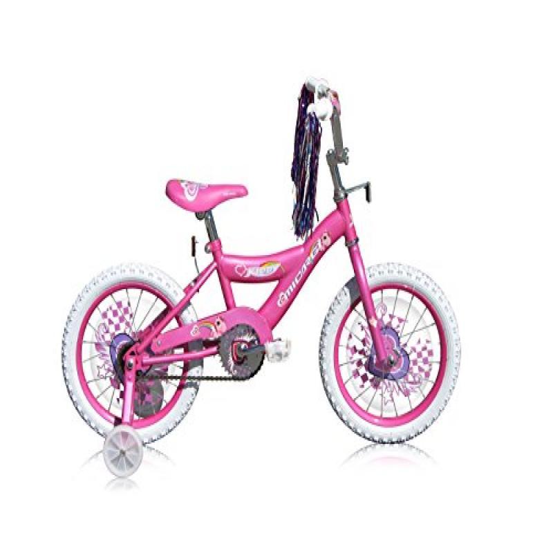 Micargi Kid's Cruiser Bike, Pink, 16-Inch