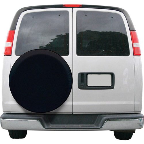 Classic Accessories Universal Spare Tire Storage Cover, Black