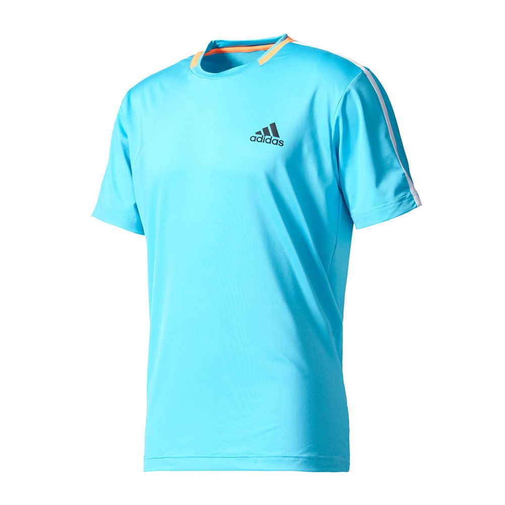 Adidas Men`s Essex Tennis Tee Samba Blue