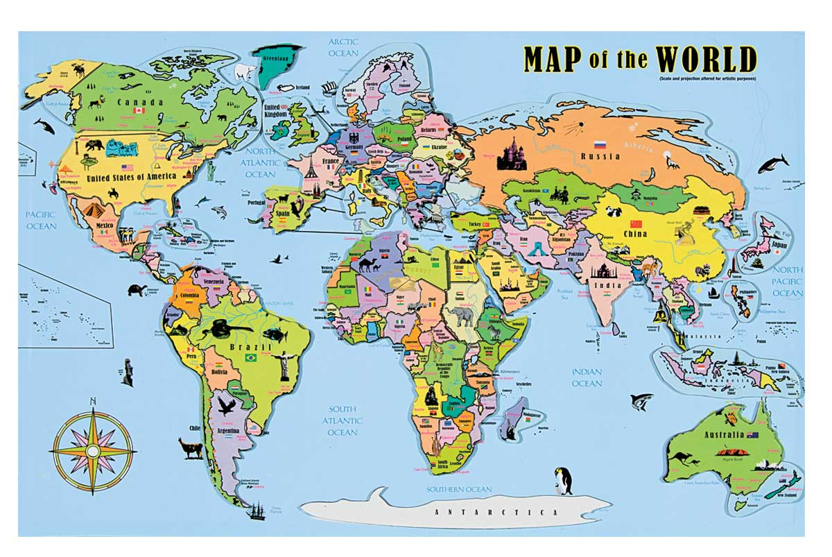 World magnetic map puzzle walmart gumiabroncs Images