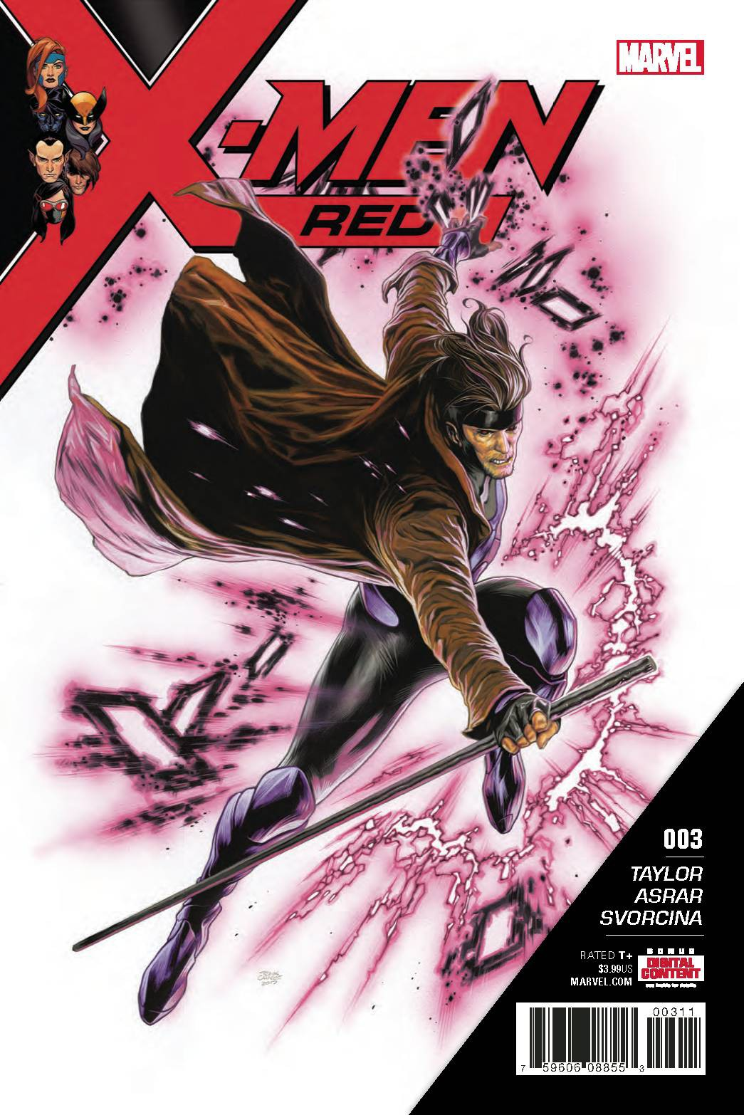 Marvel X-Men Red #3 by