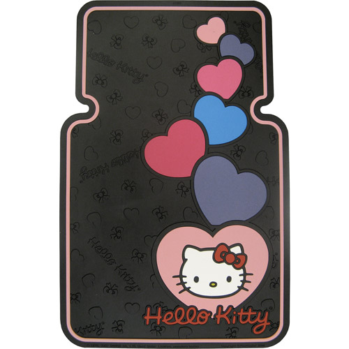 Plasticolor Hello Kitty Heart with Bow Floor Mat