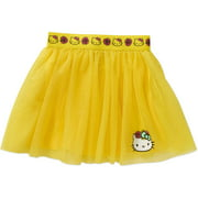 Hello Kitty Girls' Glitter Mesh Tutu Skirt