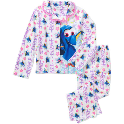 Girls' Licensed 2-Pc Coat Pajamas set