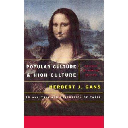 Popular Culture and High Culture - eBook