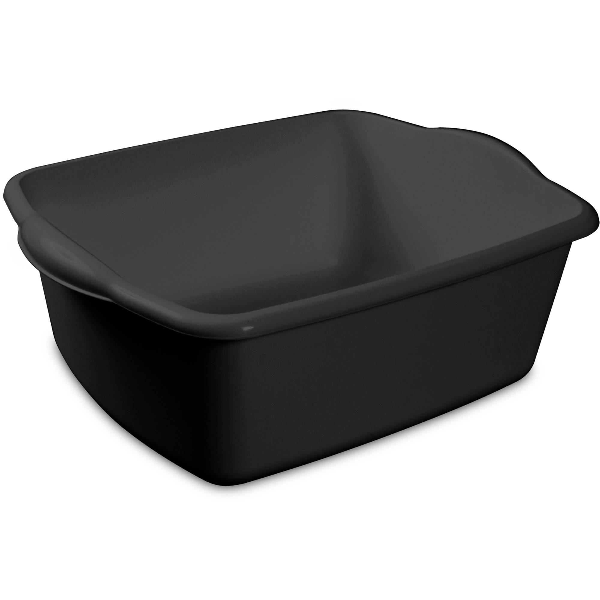Sterilite 12-Quart Dishpan, Black