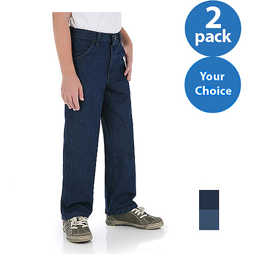 Rustler - Boys; Relaxed Jean , 2 Pack